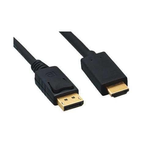 Tera Grand DisplayPort Male to HDMI Male Cable (15')