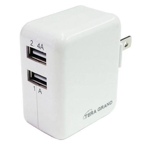 Tera Grand High-Speed Dual USB Wall Charger CHAR-TE071
