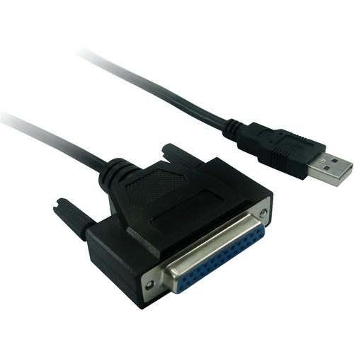 Tera Grand USB Male to DB25 Female Parallel Cable USB-VE349