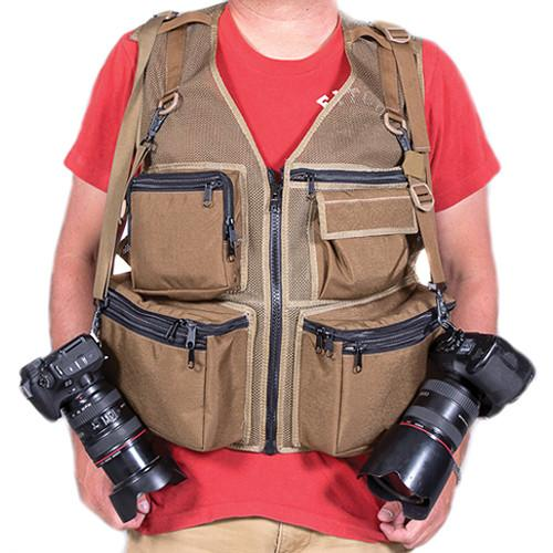 THE VEST GUY M&M Travel Photography Medium Vest 500016CMM