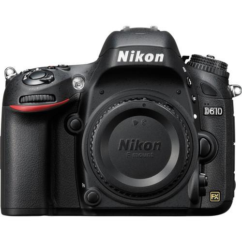 Used Nikon  D610 DSLR Camera (Body Only) 1540B