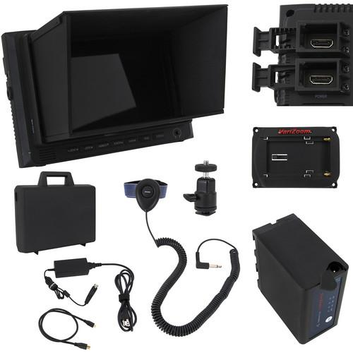 VariZoom VZM7 Monitor Deluxe Kit with Sunhood/Screen VZ-M7K
