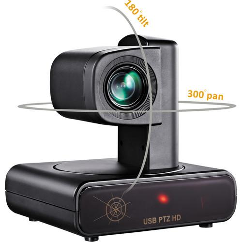 VDO360 HD PTZ USB Camera with 12x Optical Zoom VPTZH-01