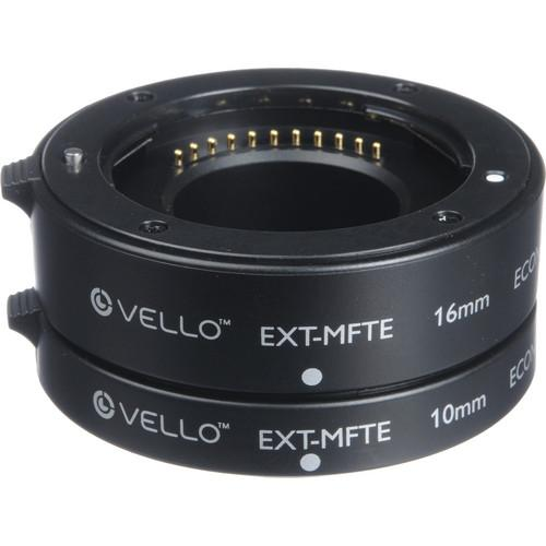 Vello Econo Auto Focus Extension Tube Set for Micro EXT-MFTE