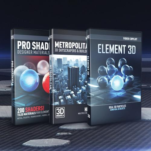 Video Copilot 3D Architecture Bundle (Download) 3DARCHITECTURE