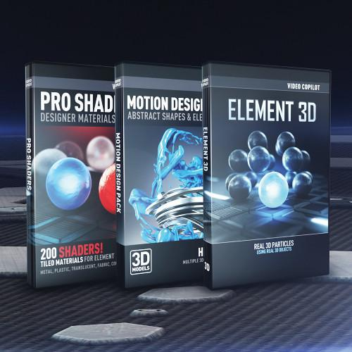 Video Copilot 3D Design Bundle (Download) 3DDESIGNBUDLE