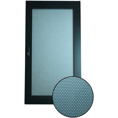 Video Mount Products Perforated Steel Door (18-Space) ERENPD-18