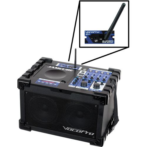 VocoPro JAMCUBE-BT Stereo All-in-One Mini JAMCUBE-BT