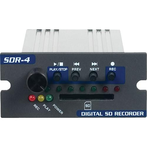 VocoPro SDR-4 Digital SD Card Recorder Module SDR-4
