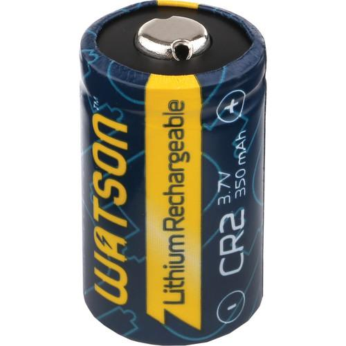 Watson CR-2 Rechargeable Lithium Battery (3.7V, 350mAh) CR2-II