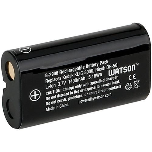 Watson KLIC-8000 Lithium-Ion Battery Pack (3.7V, 1400mAh) B-2906