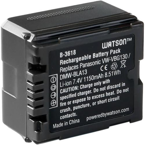Watson VW-VBG130 Lithium-Ion Battery Pack (7.4V, 1150mAh) B-3618