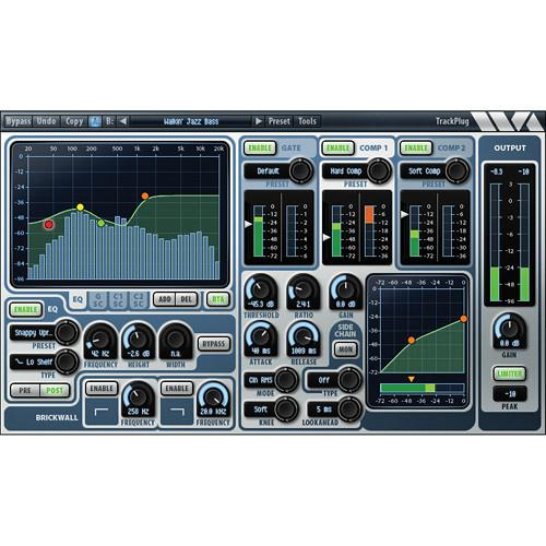 Wave Arts TrackPlug Channel Strip Plug-In (AAX DSP) 11-33099