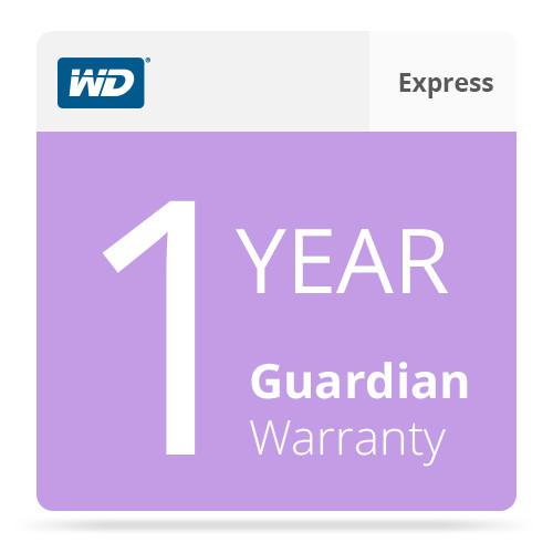 WD 1-Year Guardian Express Warranty for WD WDBBNS0000NNC-NASN