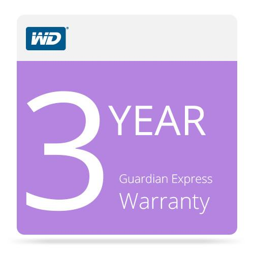 WD 3-Year Guardian Express Warranty for WD WDBGJJ0000NNC-NASN