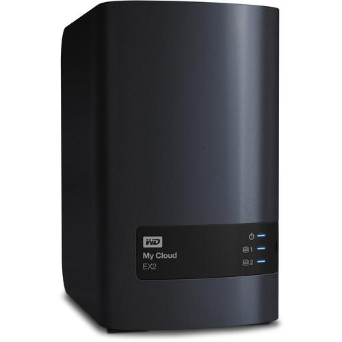 WD 4TB My Cloud EX2 2-Bay Personal Cloud WDBVKW0040JCH-NESN
