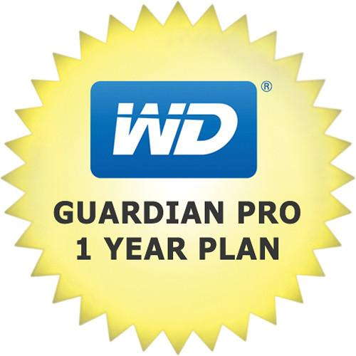 WD Guardian Pro 1-Year Plan for WD Sentinel WDBWTZ0000NNC-NASN