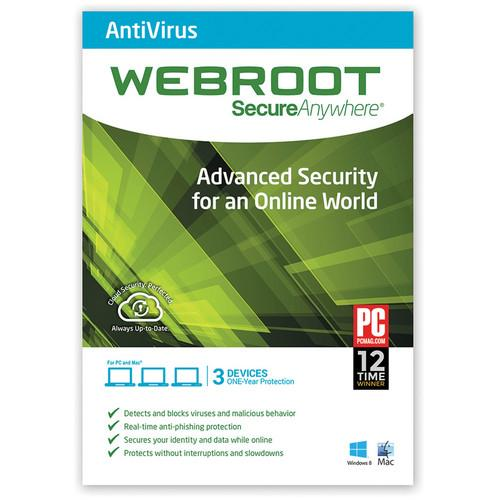 Webroot  SecureAnywhere AntiVirus 667208491056