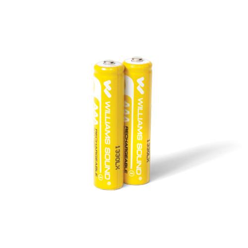 Williams Sound 1.2V AAA Rechargeable NiMH Batteries BAT 022-2