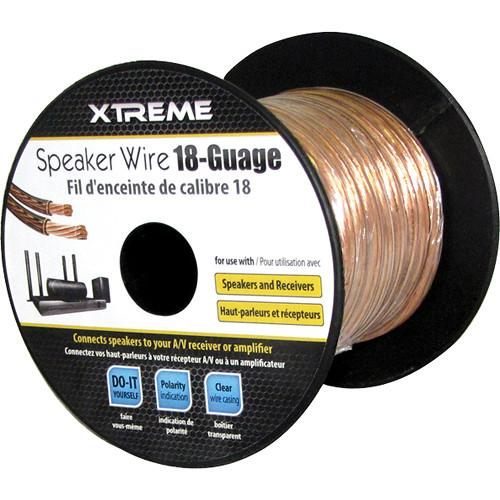 Xtreme Cables  18 AWG Speaker Wire (100') 76103