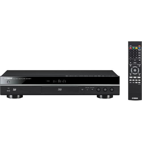 Yamaha BD-S677 Wi-Fi and 3D Blu-ray Disc Player BD-S677BL