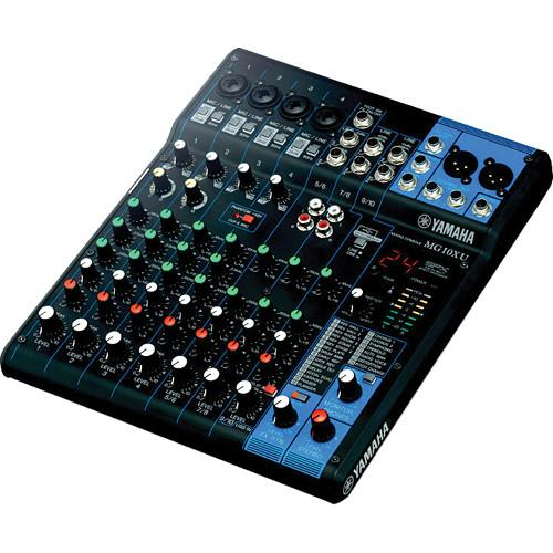 Yamaha MG10XU - 10-Input Mixer with Built-In FX and MG10XU