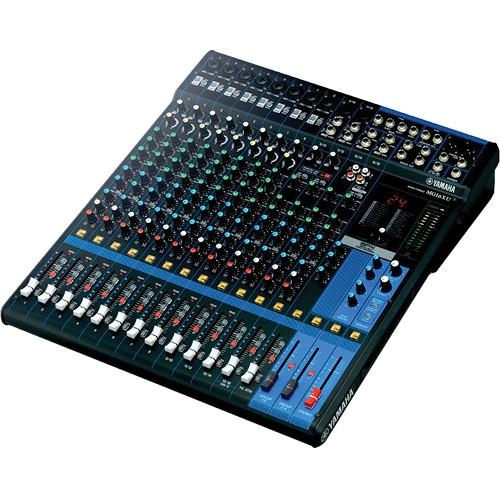 Yamaha MG16XU - 16-Input Mixer with Built-In FX and MG16XU