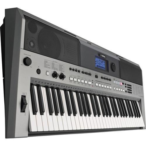 Yamaha PSR-E443 Portable Keyboard with Survival Kit PSRE443 KIT