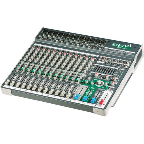 Yorkville Sound VGM14 Passive Compact Mixer with 10 Mono VGM14