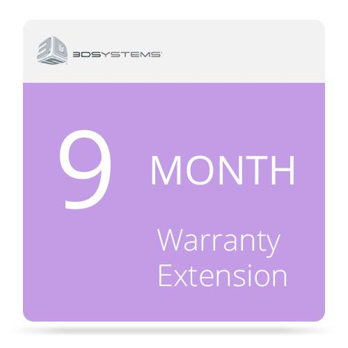 3D Systems 9-Month Warranty Extension for the CubePro 3D 391400