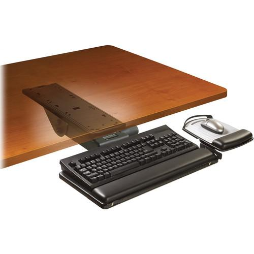 3M AKT151LE Adjustable Keyboard Tray with Easy-Adjust AKT151LE