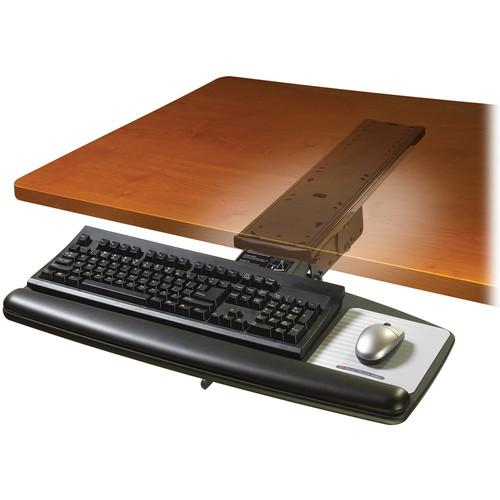 3M AKT70LE Adjustable Keyboard Tray with Lever-Adjust Arm