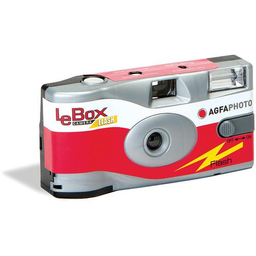 AgfaPhoto LeBox Flash 35mm Disposable Camera 1175286