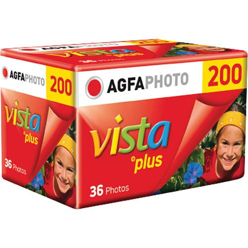 AgfaPhoto Vista plus 200 Color Negative Film 1175217