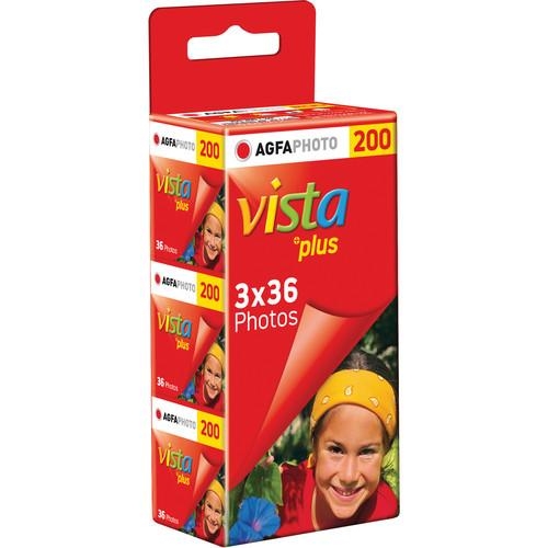 AgfaPhoto Vista plus 200 Color Negative Film 1175239