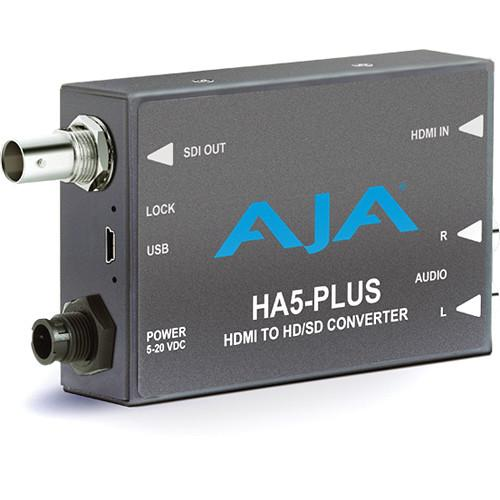 AJA HA5-Plus HDMI to 3G-SDI Mini-Converter HA5-PLUS