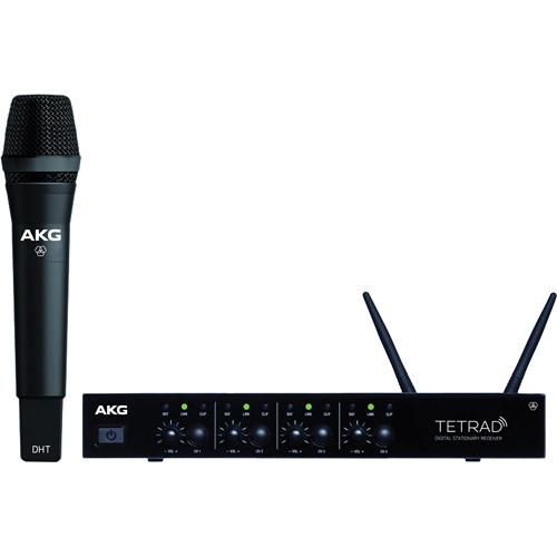 AKG DMSTetrad Digital Wireless Vocal Set P5 3459H00040