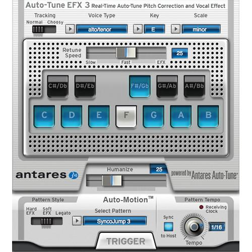 Antares Audio Technologies Auto-Tune EFX 3 - Real Time 21003