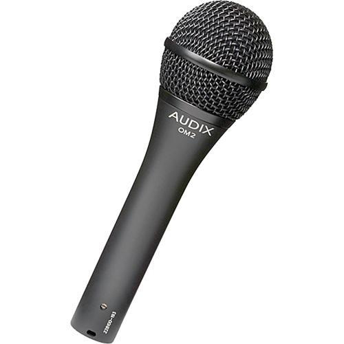 Audix OM2 Dynamic Handheld Hypercardioid Microphone Kit (3 Pack)