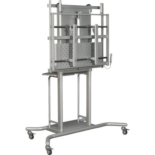 Balt iTeach Electric Adjustable Flat Panel Cart 27675