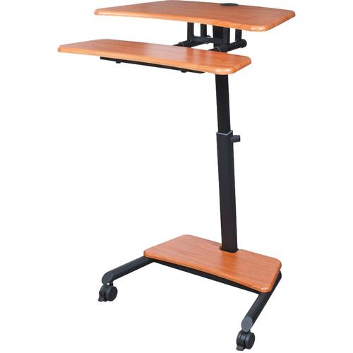 Balt Up-Rite Mobile Workstation with Adjustable Sit/Stand 90459