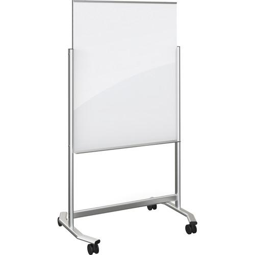 Balt Visionary Move Mobile Magnetic Glass Whiteboard 74950