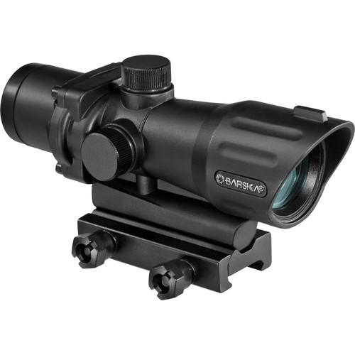 Barska  AR-X 4x30mm Red/Green Prism Scope AC12268