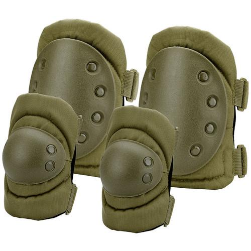 Barska CX-400 Loaded Gear Elbow and Knee Pad Set BI12280