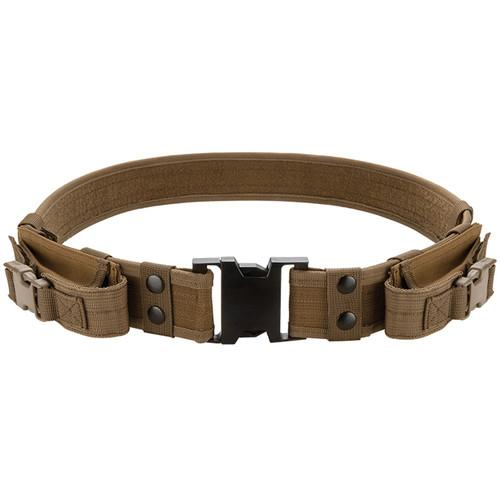 Barska CX-600 Loaded Gear Tactical Belt (Dark Earth) BI12306