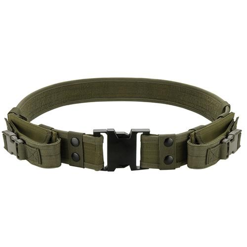 Barska CX-600 Loaded Gear Tactical Belt (OD Green) BI12284