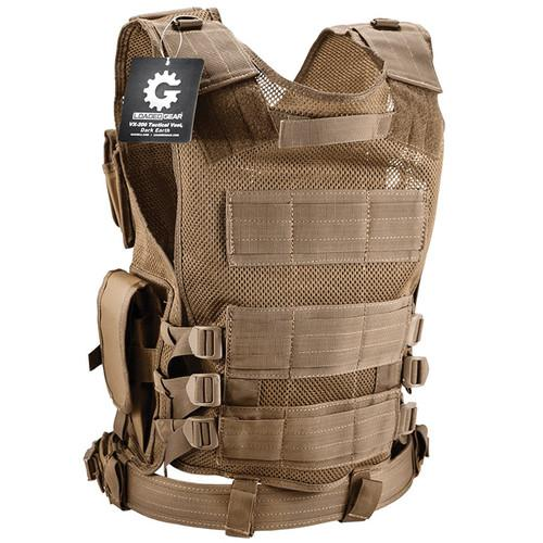 Barska Loaded Gear VX-200 Right-Handed Tactical Vest BI12346