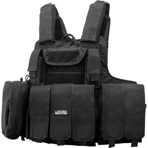 Barska Loaded Gear VX-300 Tactical Vest (Black) BI12256