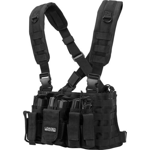 Barska Loaded Gear VX-400 Tactical Chest Rig (Black) BI12258