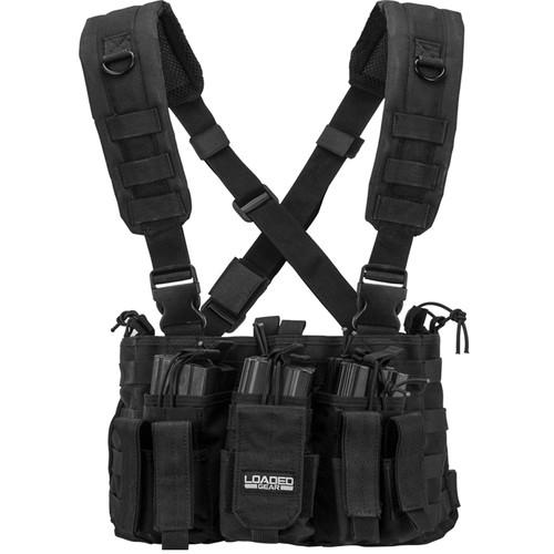 Barska Loaded Gear VX-400 Tactical Chest Rig (OD Green) BI12288